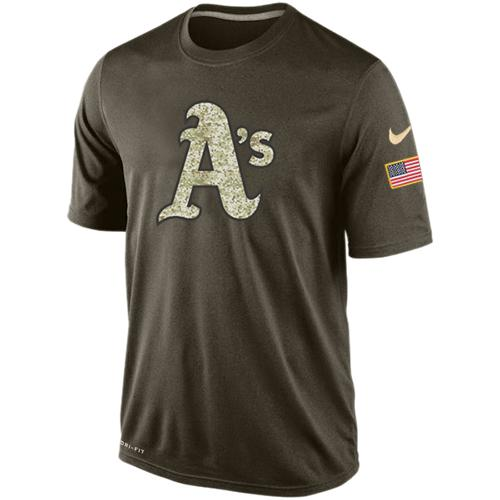 Men's Oakland Athletics Salute To Service Nike Dri-FIT T-Shirt