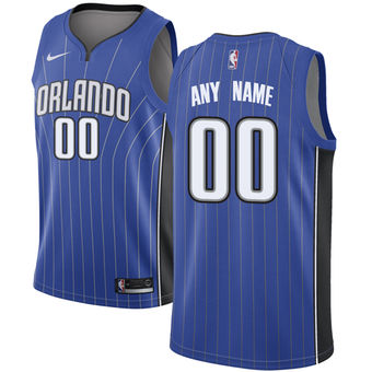 Men's Orlando Magic Nike Royal Swingman Custom Icon Edition Jersey