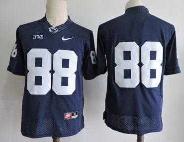 Men's Penn State Nittany Lions #88 Mike Gesicki No Name Navy Blue Limited College Football Stitched Nike NCAA Jersey