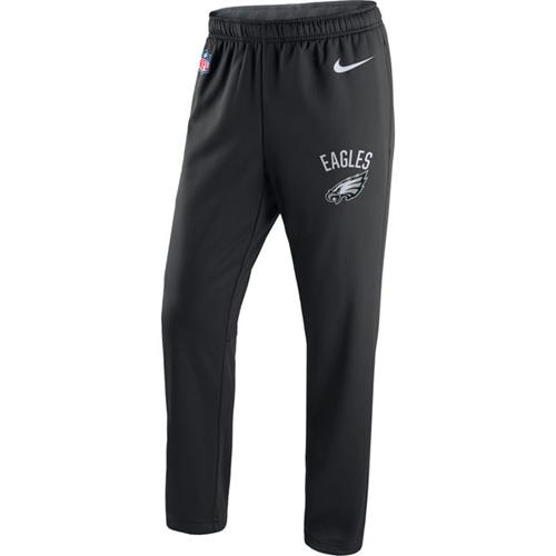 Men's Philadelphia Eagles Nike Black Circuit Sideline Performance Pants