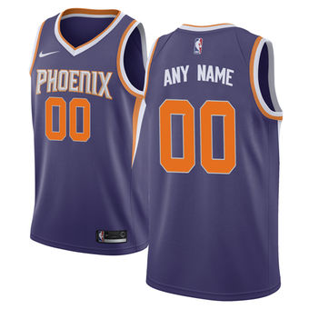 Men's Phoenix Suns Nike Purple Custom Jersey