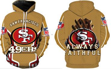 Men's San Francisco 49ers Pullover Hoodie