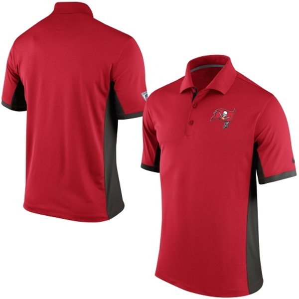 Men's Tampa Bay Buccaneers Nike Red Team Issue Performance Polo