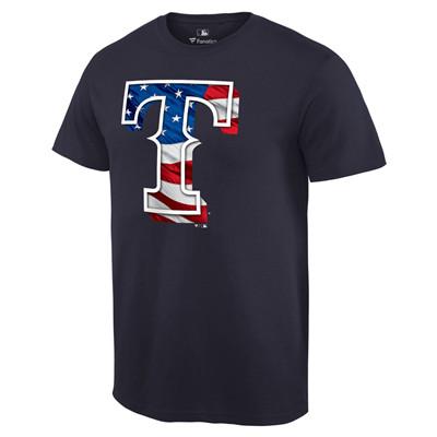 Men's Texas Rangers Navy Big & Tall Banner Wave T-Shirt