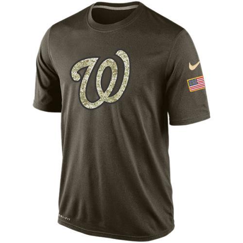 Men's Washington Nationals Salute To Service Nike Dri-FIT T-Shirt