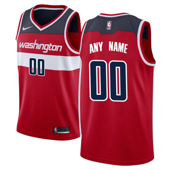 Men's Washington Wizards Nike Red Swingman Custom Icon Edition Jersey