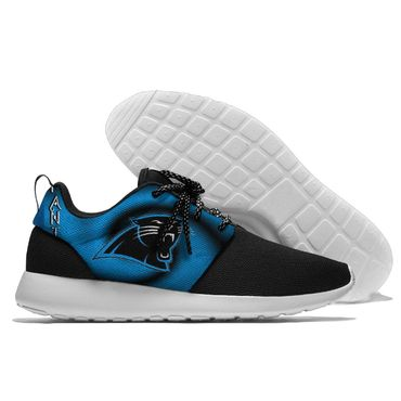 Men and women NFL Carolina Panthers Roshe style Lightweight Running shoes (2)
