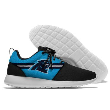 Men and women NFL Carolina Panthers Roshe style Lightweight Running shoes (3)
