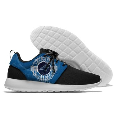 Men and women NFL Carolina Panthers Roshe style Lightweight Running shoes (6)