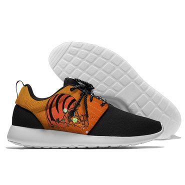 Men and women NFL Cincinnati Bengals Roshe style Lightweight Running shoes (2)