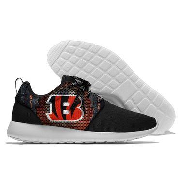 Men and women NFL Cincinnati Bengals Roshe style Lightweight Running shoes (5)