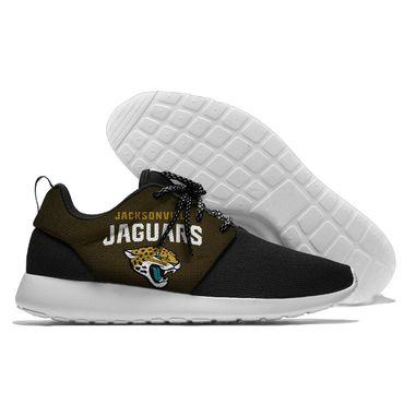 Men and women NFL Jacksonville Jaguars Roshe style Lightweight Running shoes (2)