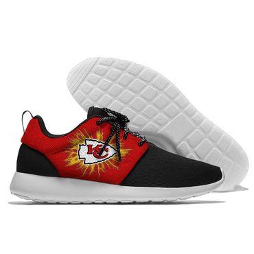 Men and women NFL Kansas City Chiefs Roshe style Lightweight Running shoes (2)