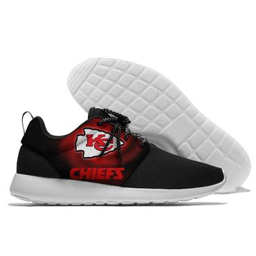 Men and women NFL Kansas City Chiefs Roshe style Lightweight Running shoes (5)