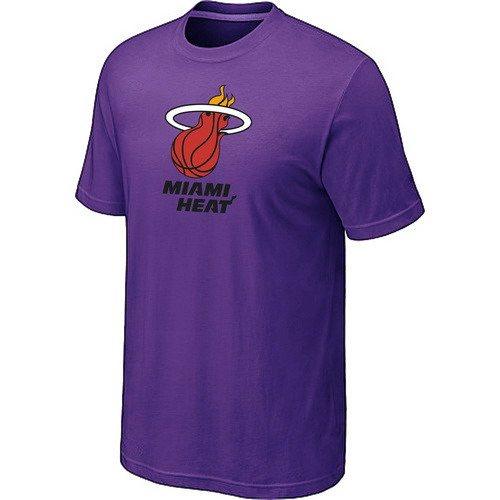 Miami Heat Big & Tall Primary Purple T-Shirts