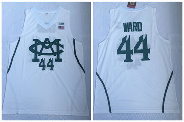 Michigan State Spartans 44 Nick Ward White College Basketball Jersey