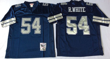 Mitchell&Ness cowboys 54 Randy White  Throwback Stitched NFL Jersey