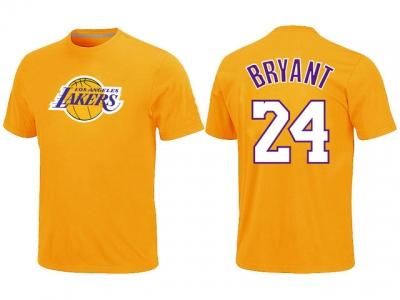 NBA Los Angeles Lakers #24 Kobe Bryant Big & Tall Name and Number T-Shirt