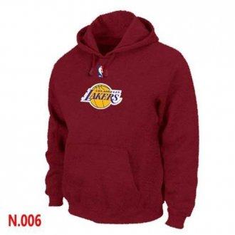 NBA Los Angeles Lakers Pullover Hoodie Red