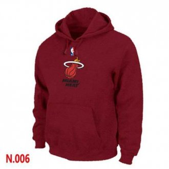 NBA Miami Heat Pullover Hoodie Red