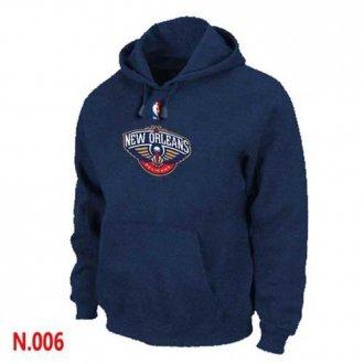 NBA New Orleans Pelican Pullover Hoodie Dark Blue