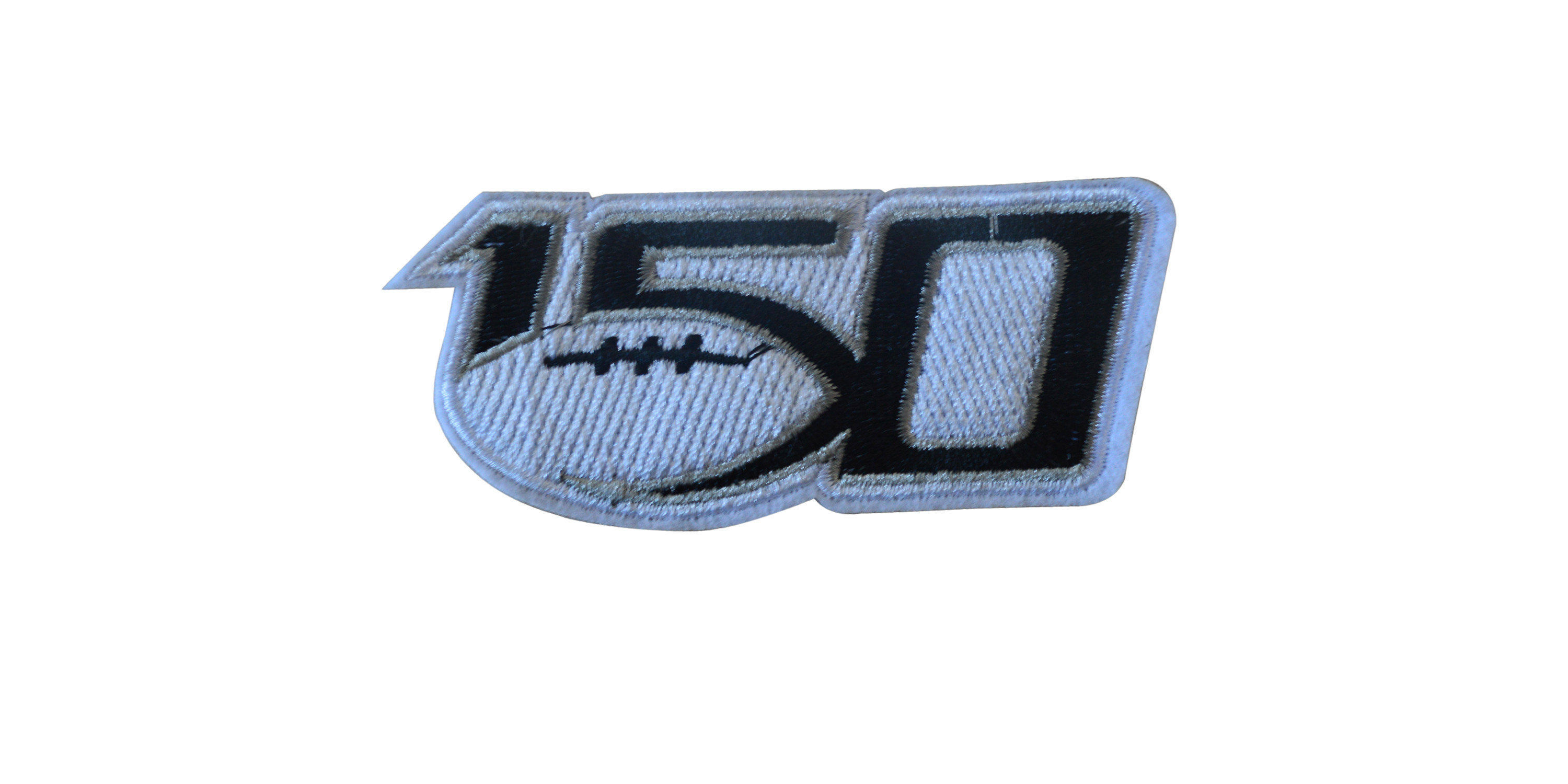 NCAA College Football 150th Anniversary Patch 2019
