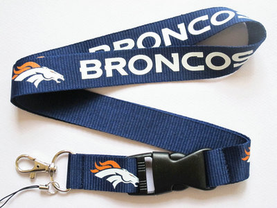 NFL Broncos Key Chains