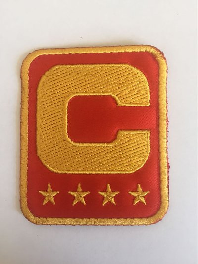 NFL Jersey Captain C patch