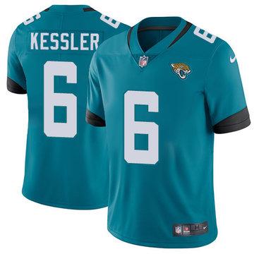 NFL Nike Jacksonville Jaguars #6 Cody Kessler Green Vapor Untouchable Limited Jersey