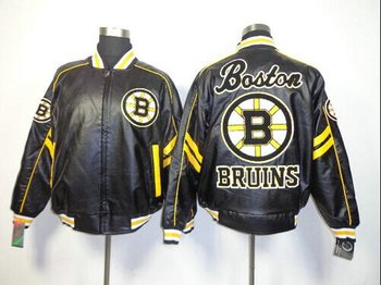 NHL Boston Bruins Leather Jacket
