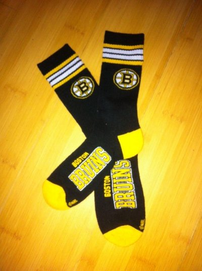 NHL Boston Bruins Socks