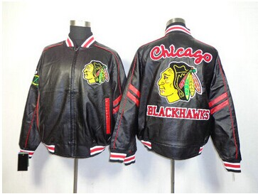 NHL Chicago Blackhawks Leather Jacket