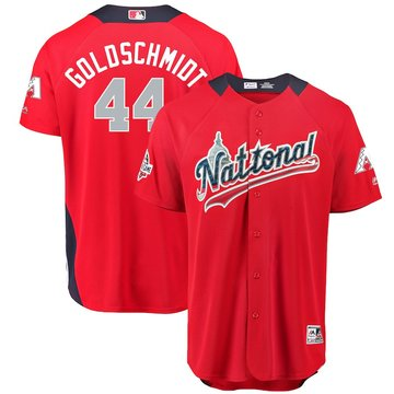 National League 44 Paul Goldschmidt Red 2018 MLB All-Star Game Home Run Derby Jersey