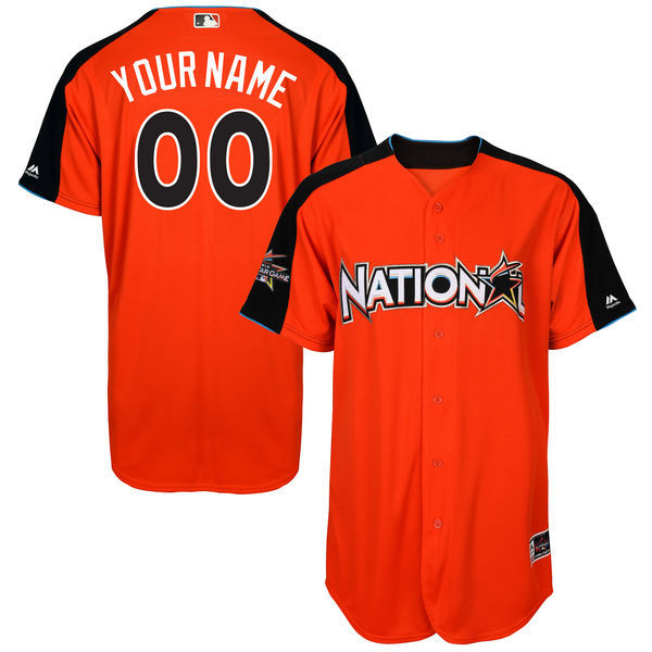 National League Men's 2017 All-Star Majestic Customized Jersey