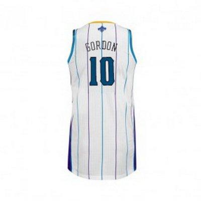 New Orleans Hornets Eric Gordon #10 White Jersey