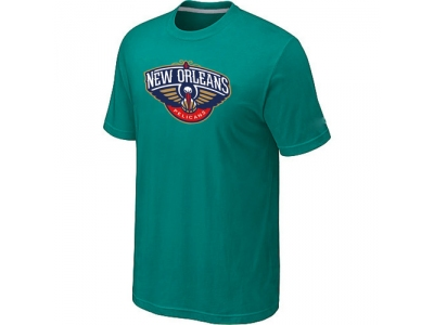 New Orleans Pelicans Big & Tall Primary Logo Green T-Shirt