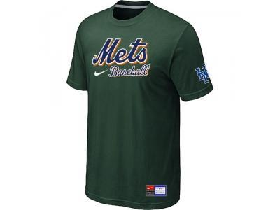 New York Mets D.Green NEW Short Sleeve Practice T-Shirt