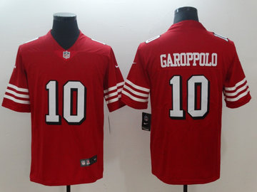 Nike 49ers 10 Jimmy Garoppolo Red 2018 Vapor Untouchable Limited Jersey