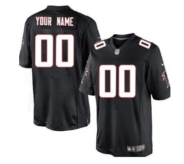 Nike Atlanta Falcons Customized Black Game Jersey