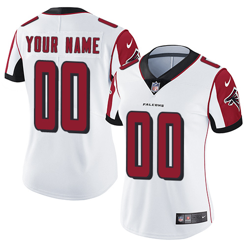Nike Atlanta Falcons Elite White Road Women's Jersey NFL  Vapor Untouchable Customized jerseys