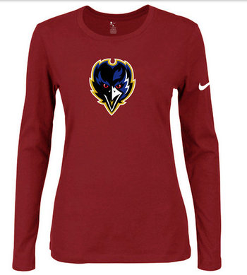 Nike Baltimore Ravens Women's  Shirts-13