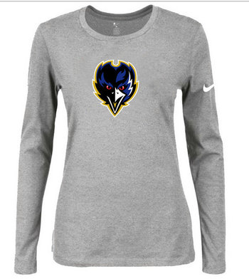 Nike Baltimore Ravens Women's  Shirts-3