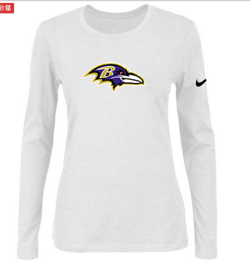Nike Baltimore Ravens Women's  Shirts-4