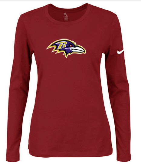 Nike Baltimore Ravens Women's  Shirts-9
