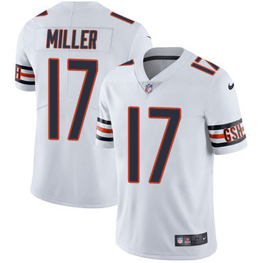 Nike Bears #17 Anthony Miller White Youth Stitched NFL Vapor Untouchable Limited Jersey
