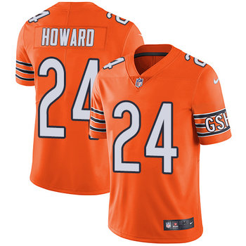 Nike Bears #24 Jordan Howard Orange Youth Stitched NFL Limited Rush Jersey
