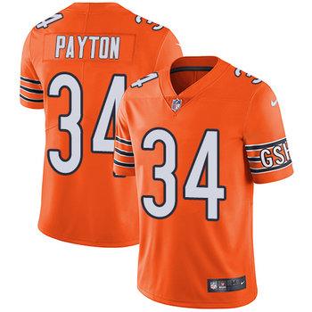 Nike Bears #34 Walter Payton Orange Youth Stitched NFL Limited Rush Jersey
