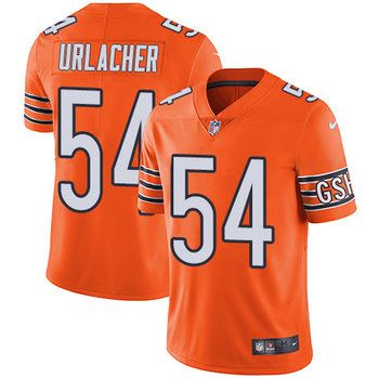 Nike Bears #54 Brian Urlacher Orange Youth Stitched NFL Limited Rush Jersey
