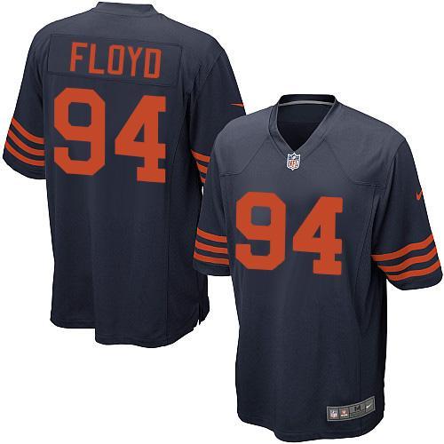 Nike Bears #94 Leonard Floyd Navy Blue Alternate Youth Stitched NFL Elite Jersey