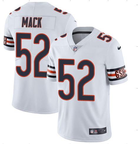 Nike Bears 52 Khalil Mack White Youth Vapor Untouchable Limited Jersey